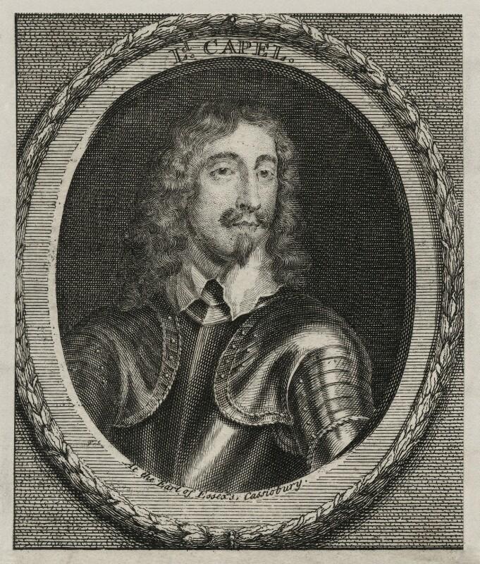 Arthur Capel, 1st Baron Capel, after Unknown artist, 18th century - NPG D26662 - © National Portrait Gallery, London