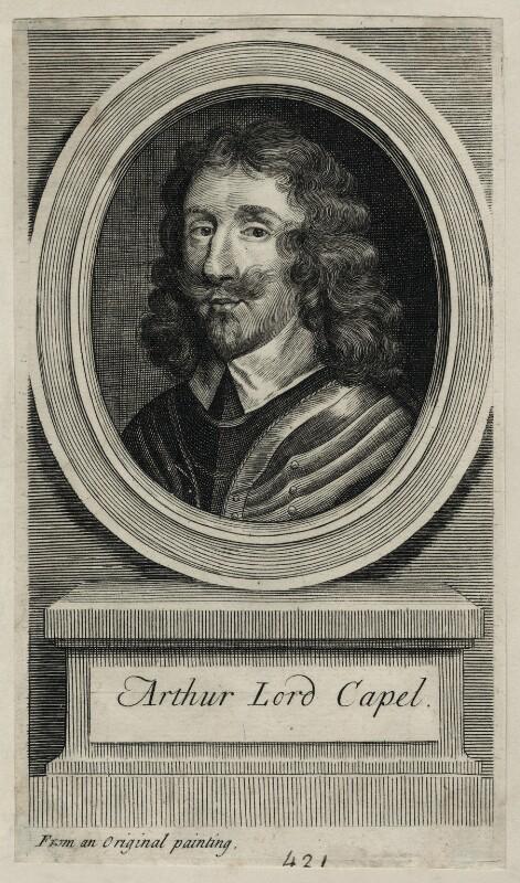Arthur Capel, 1st Baron Capel, by George Vertue, 1713 - NPG D26664 - © National Portrait Gallery, London