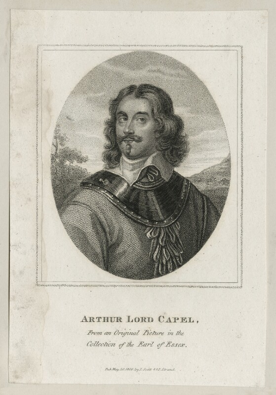 Arthur Capel, 1st Baron Capel, published by John Scott, published 20 May 1806 - NPG D26665 - © National Portrait Gallery, London