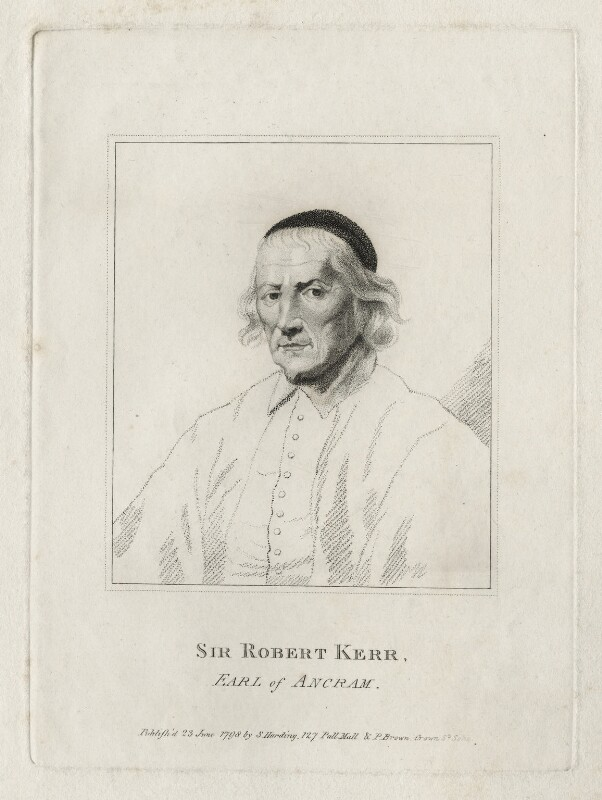 Robert Ker, 1st Earl of Ancram, published by Silvester Harding, after  Unknown artist, published 1798 - NPG D26668 - © National Portrait Gallery, London
