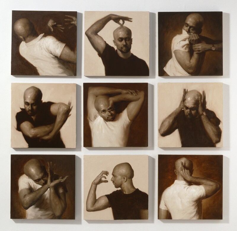 Akram Khan, by Darvish Fakhr, 2008 - NPG 6847 - © National Portrait Gallery, London