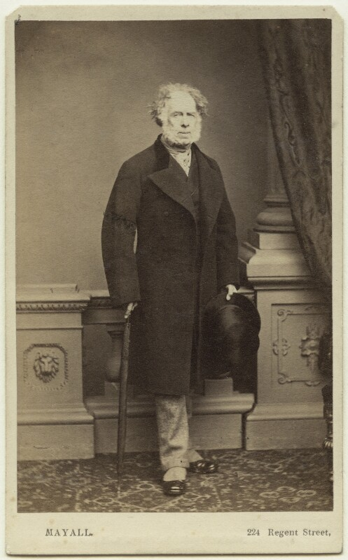 Francis Wemyss-Charteris, 9th Earl of Wemyss, by John Jabez Edwin Mayall, 1860s - NPG Ax7432 - © National Portrait Gallery, London