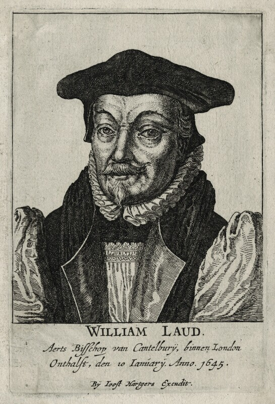 William Laud, published by Joost Hartgers, mid 17th century - NPG D26704 - © National Portrait Gallery, London