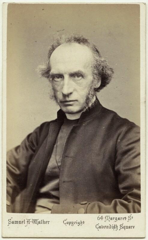 Charles John Ellicott, by Samuel Alexander Walker, circa 1874 - NPG Ax38627 - © National Portrait Gallery, London