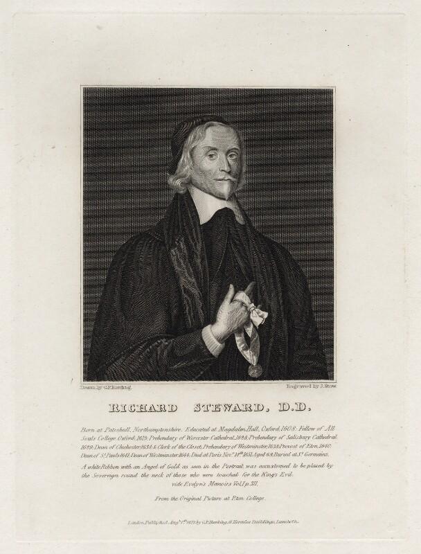 Richard Steward, by James Stow, after  Cornelius De Neve, published 1822 - NPG D26768 - © National Portrait Gallery, London