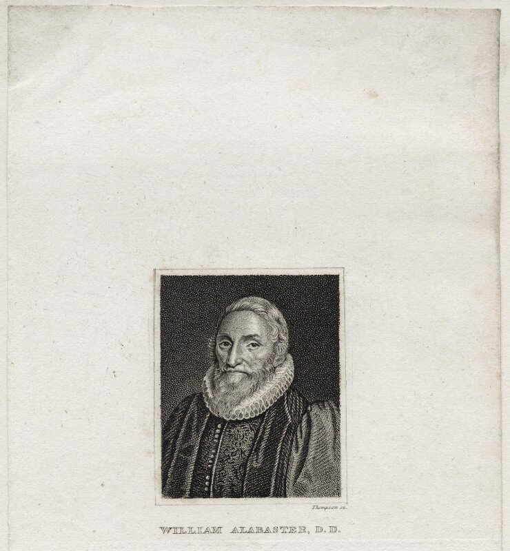 William Alabaster, probably by James Thomson (Thompson), early 19th century - NPG D26775 - © National Portrait Gallery, London