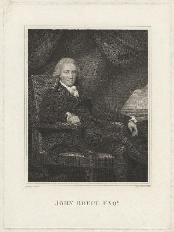 John Bruce, by Edward Mitchell, after  Sir Henry Raeburn, (circa 1794) - NPG D32244 - © National Portrait Gallery, London