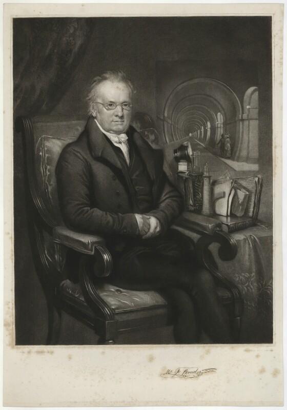 Sir Marc Isambard Brunel, by J. Carter, after  Samuel Drummond, published 1846 - NPG D32247 - © National Portrait Gallery, London