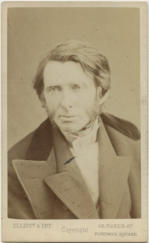 John Ruskin, by Elliott & Fry, 1867 - NPG x129558 - © National Portrait Gallery, London