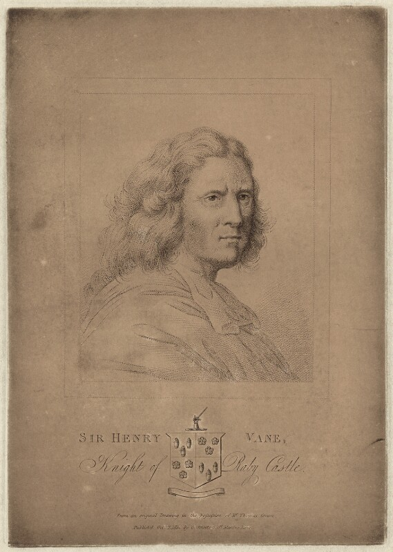 Sir Henry Vane the Elder, possibly by Robert Cooper, published 1814 - NPG D26921 - © National Portrait Gallery, London