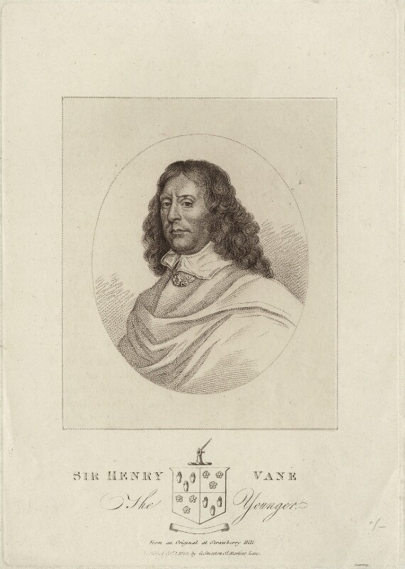 Sir Henry Vane the Younger, published by George Smeeton, published 1 October 1814 - NPG D26925 - © National Portrait Gallery, London