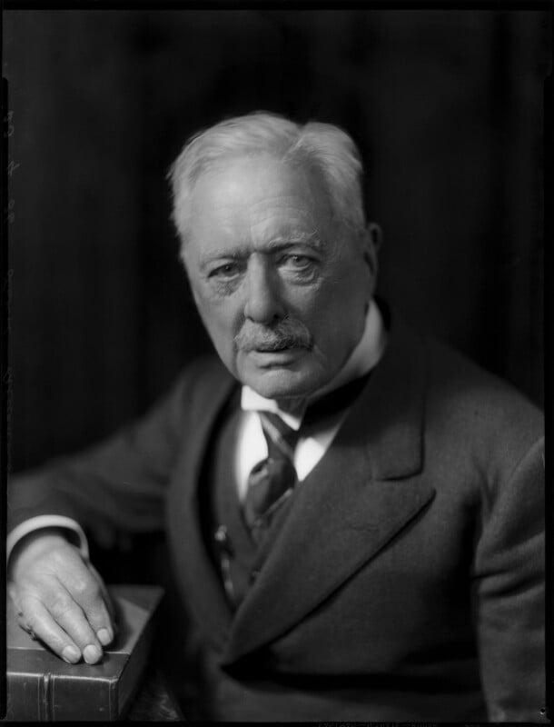 Gerald Henry Beresford Gibbs, 3rd Baron Aldenham, by Bassano Ltd, 23 April 1936 - NPG x152146 - © National Portrait Gallery, London