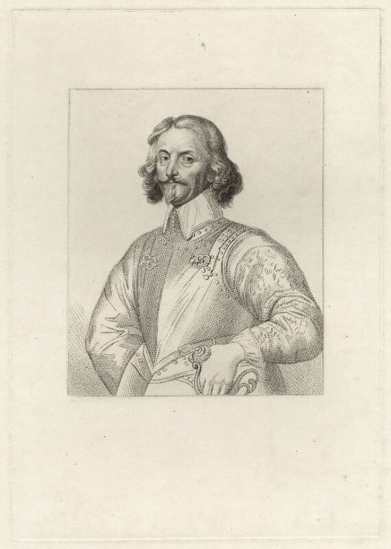 Jacob Astley, Baron Astley, after Unknown artist, early 19th century - NPG D27040 - © National Portrait Gallery, London