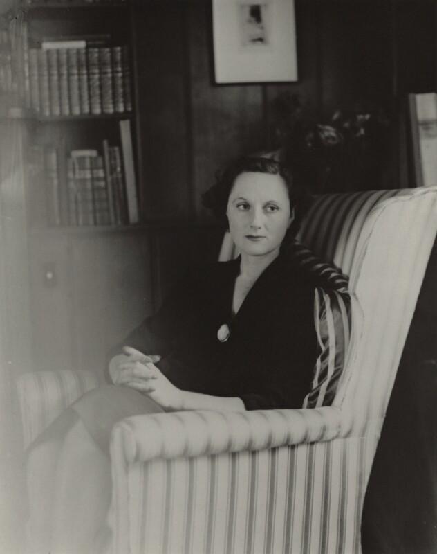 Elizabeth Taylor (née Coles), by Unknown photographer, 1940s - NPG x47369 - © National Portrait Gallery, London