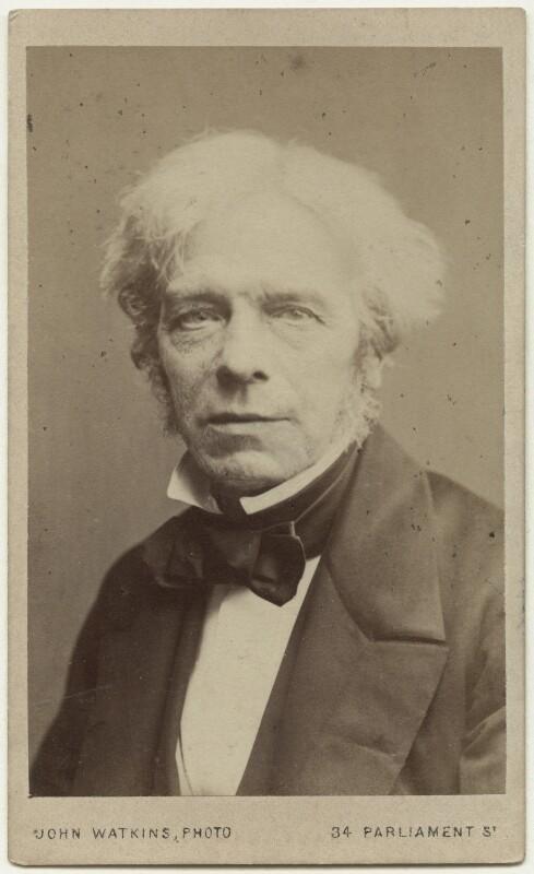 Michael Faraday, by John Watkins, 1860s - NPG Ax18201 - © National Portrait Gallery, London