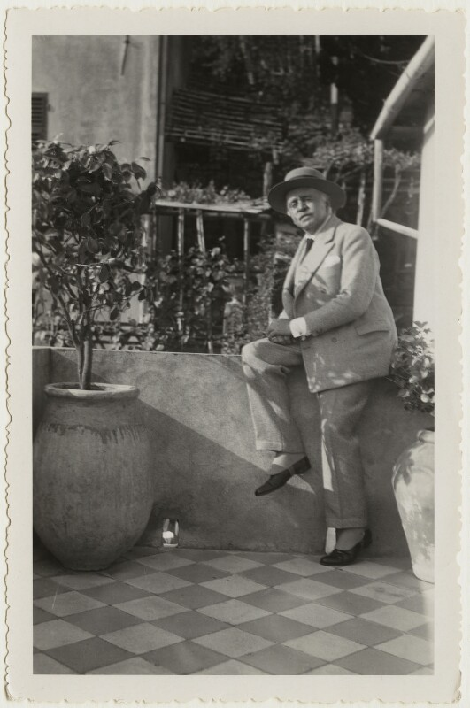 Sir Max Beerbohm, by Unknown photographer, circa 1937 - NPG x46600 - © National Portrait Gallery, London
