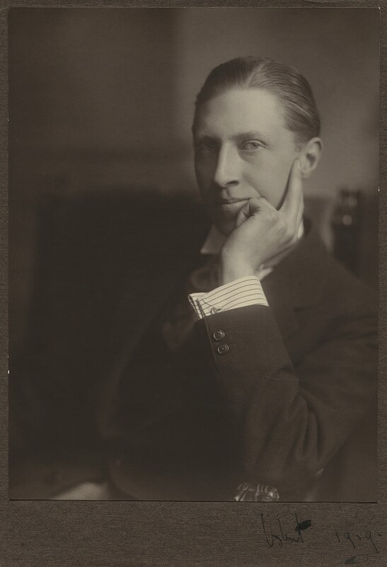 Sir Osbert Sitwell, by Unknown photographer, 1919 - NPG x46608 - © National Portrait Gallery, London