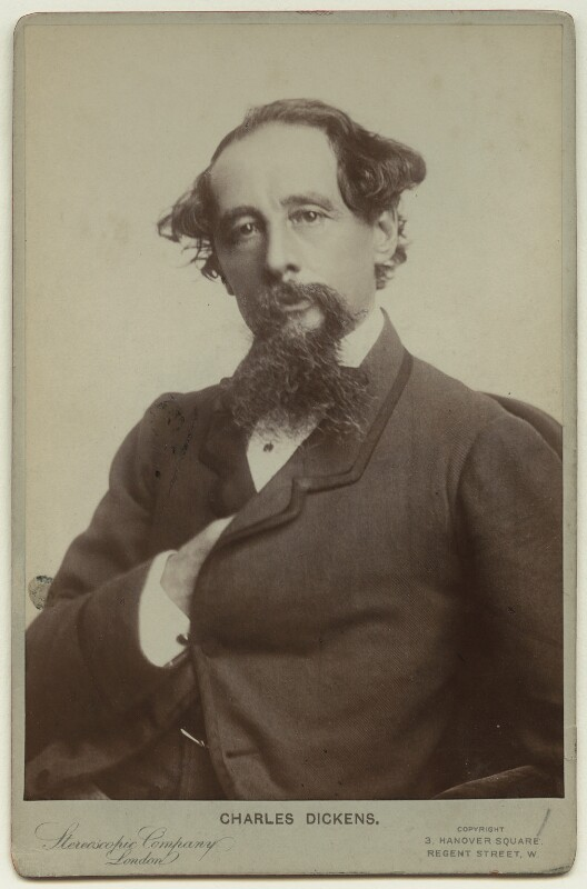 Charles Dickens, by London Stereoscopic & Photographic Company, 1880s (late 1850s) - NPG x36208 - © National Portrait Gallery, London