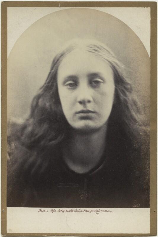 'Christabel' (May Prinsep), by Julia Margaret Cameron, 1866 - NPG x18045 - © National Portrait Gallery, London