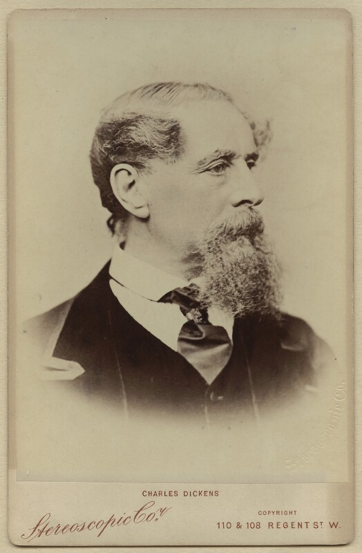 Charles Dickens, by London Stereoscopic & Photographic Company, (1867) - NPG x11860 - © National Portrait Gallery, London