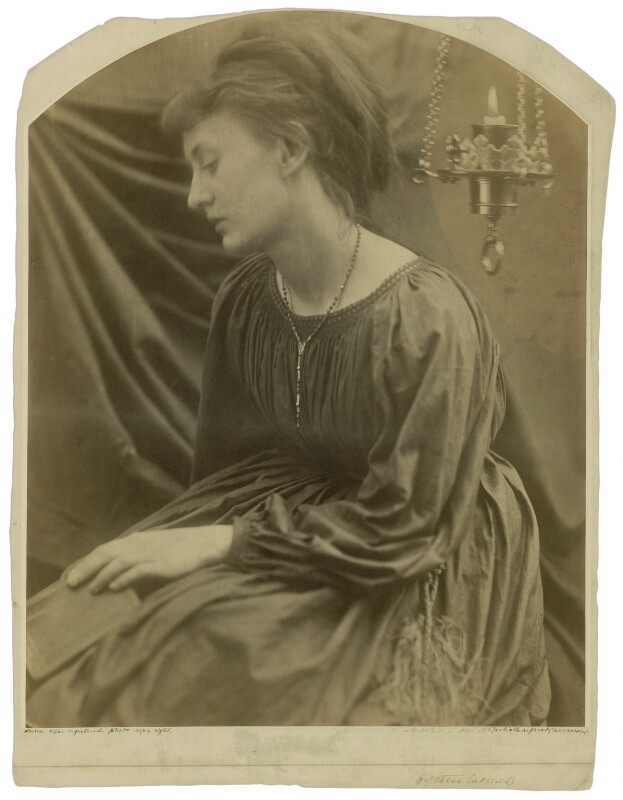 'Portrait of a Sybil' (May Prinsep), by Julia Margaret Cameron, 1870 - NPG x18012 - © National Portrait Gallery, London