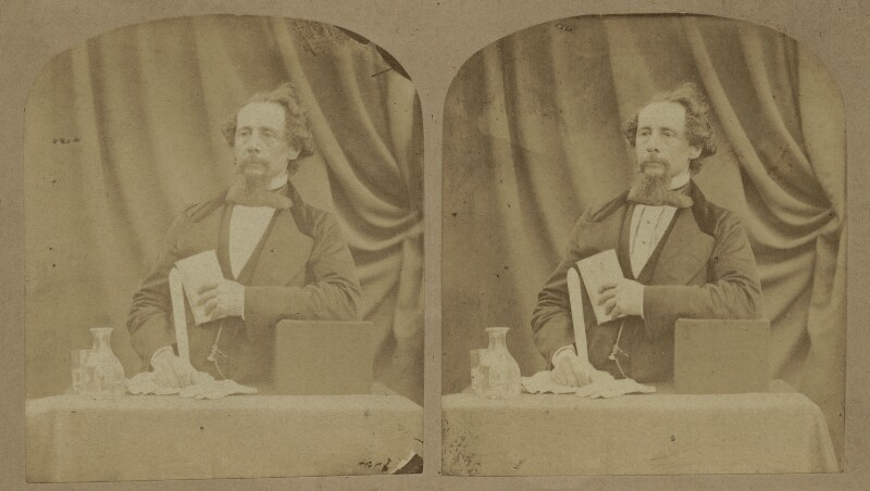 Charles Dickens, by (George) Herbert Watkins, 29 April 1858 - NPG x5585 - © National Portrait Gallery, London