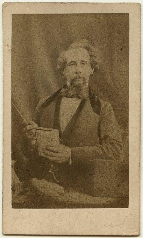 Charles Dickens, by (George) Herbert Watkins, 29 April 1858 - NPG x14342 - © National Portrait Gallery, London