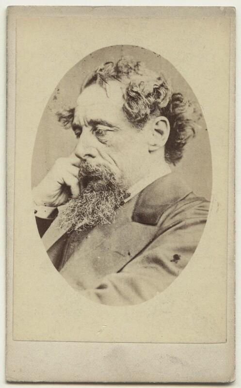 Charles Dickens, by John & Charles Watkins, September 1863 - NPG x14340 - © National Portrait Gallery, London