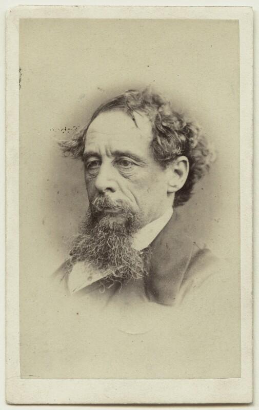Charles Dickens, by John & Charles Watkins, published by  Mason & Co (Robert Hindry Mason), September 1863 - NPG x14345 - © National Portrait Gallery, London