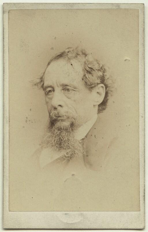 Charles Dickens, by John & Charles Watkins, published by  Mason & Co (Robert Hindry Mason), September 1863 - NPG x14346 - © National Portrait Gallery, London