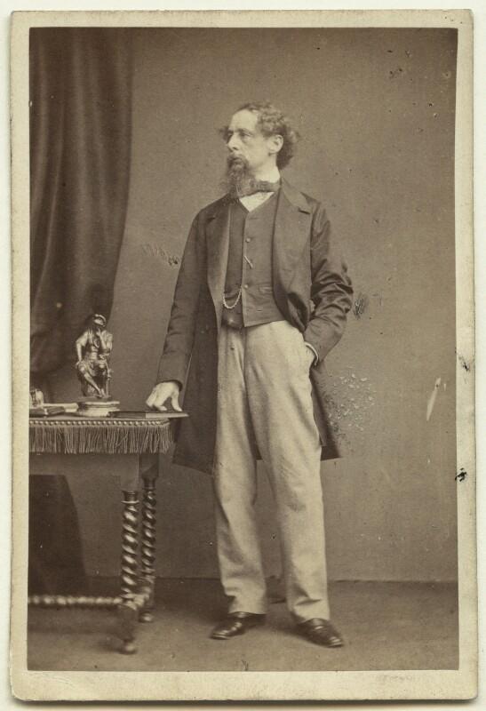 Charles Dickens, by John & Charles Watkins, 1861 - NPG x14336 - © National Portrait Gallery, London