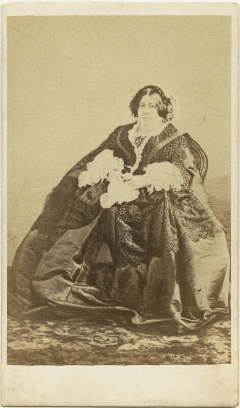 Frances Anne Vane, Marchioness of Londonderry, by Samuel Oglesby, early 1860s - NPG x1479 - © National Portrait Gallery, London