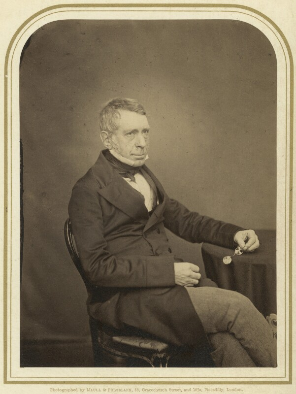 Sir George Biddell Airy, by Maull & Polyblank, mid-late 1850s - NPG x1215 - © National Portrait Gallery, London