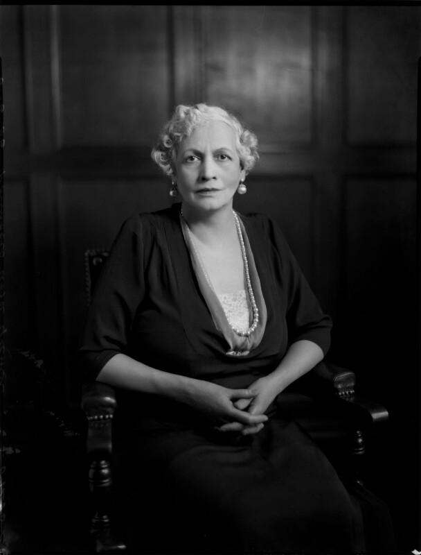 Hannah, Princess Asfa Yilma (Mrs Algernon Holland), by Bassano Ltd, 6 June 1936 - NPG x152195 - © National Portrait Gallery, London