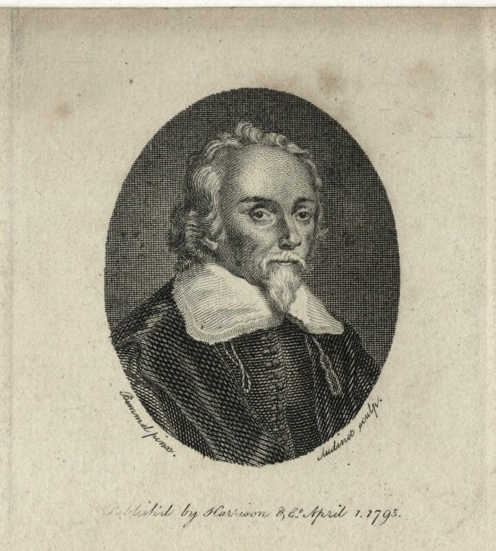 William Harvey, by Philipp Audinet, after  Wilhelm von Bemmel, published 1795 - NPG D27269 - © National Portrait Gallery, London