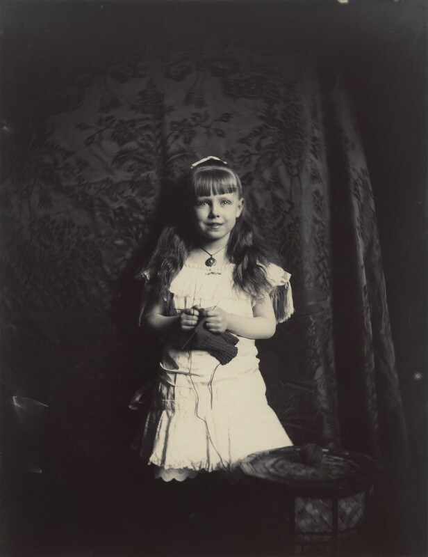'Princess Marie of Edinburgh' (Marie, Queen of Romania), by Rupert Potter, 1882 - NPG x131243 - © National Portrait Gallery, London
