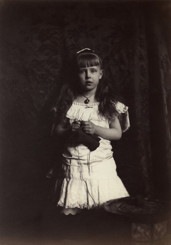 'Princess Marie of Edinburgh' (Marie, Queen of Romania), by Rupert Potter, 21 March 1882 - NPG x131245 - © National Portrait Gallery, London