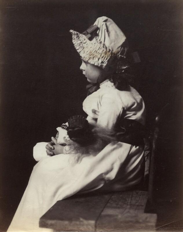 Lady Elizabeth Emily Montagu Douglas Scott (née Manners), by Rupert Potter, March 1883 - NPG x131246 - © National Portrait Gallery, London