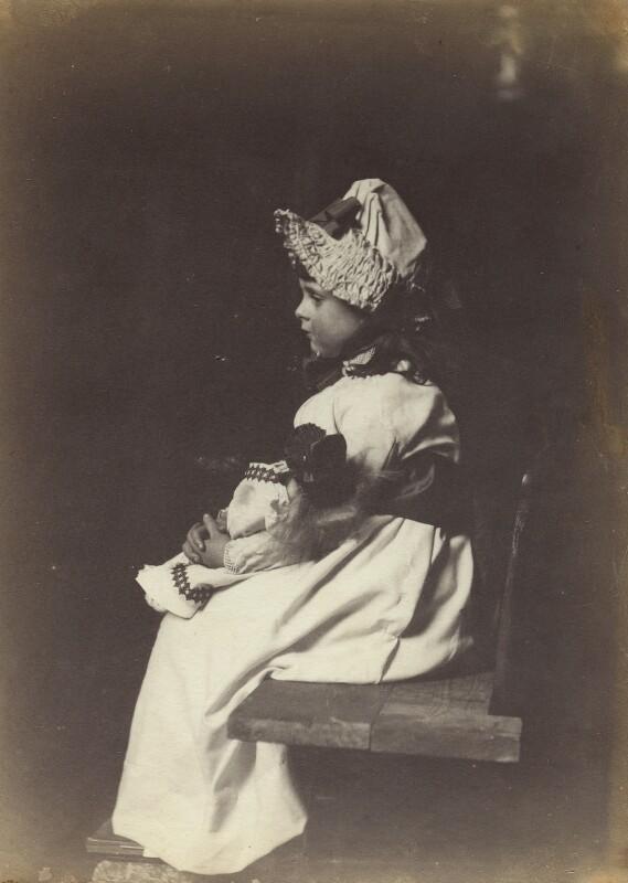 Lady Elizabeth Emily Montagu Douglas Scott (née Manners), by Rupert Potter, 28 March 1883 - NPG x131247 - © National Portrait Gallery, London