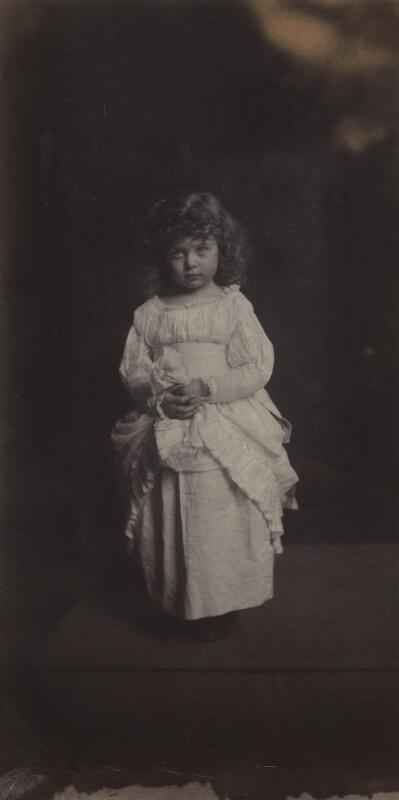 Lady Peggy Primrose, by Rupert Potter, 14 May 1884 - NPG x131248 - © National Portrait Gallery, London