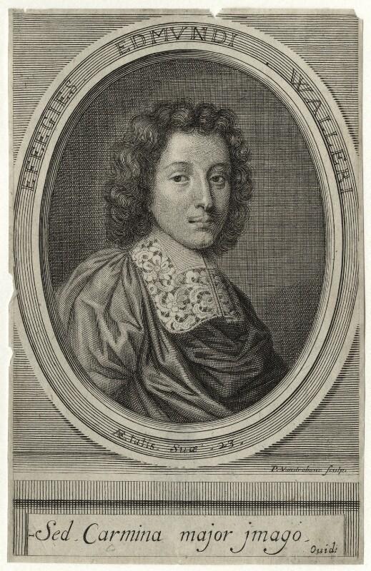 Edmund Waller, by Peter Vanderbank (Vandrebanc), mid to late 17th century - NPG D27292 - © National Portrait Gallery, London