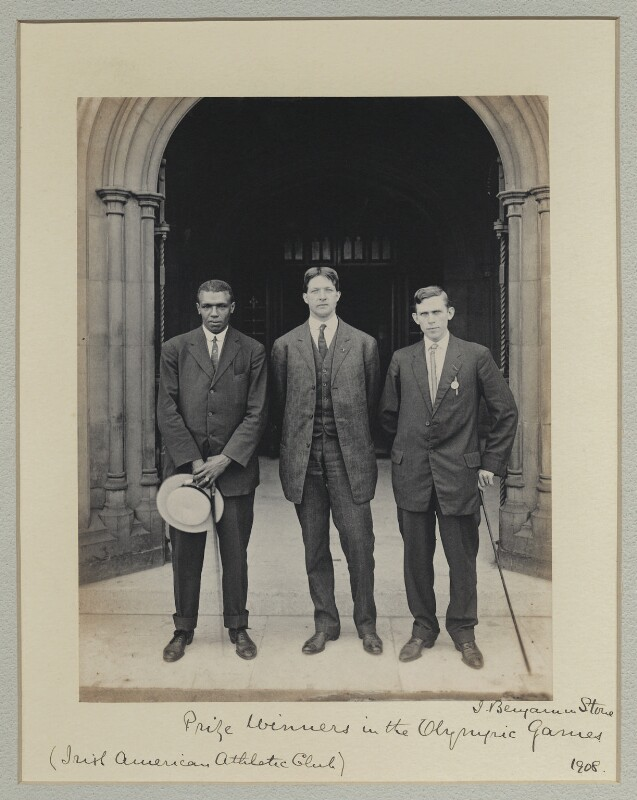 'Prize Winners in the Olympic Games', by Benjamin Stone, 29 July 1908 - NPG x131228 - © National Portrait Gallery, London