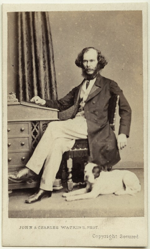 George Henry Lewes, by John & Charles Watkins, circa 1865 - NPG Ax7530 - © National Portrait Gallery, London