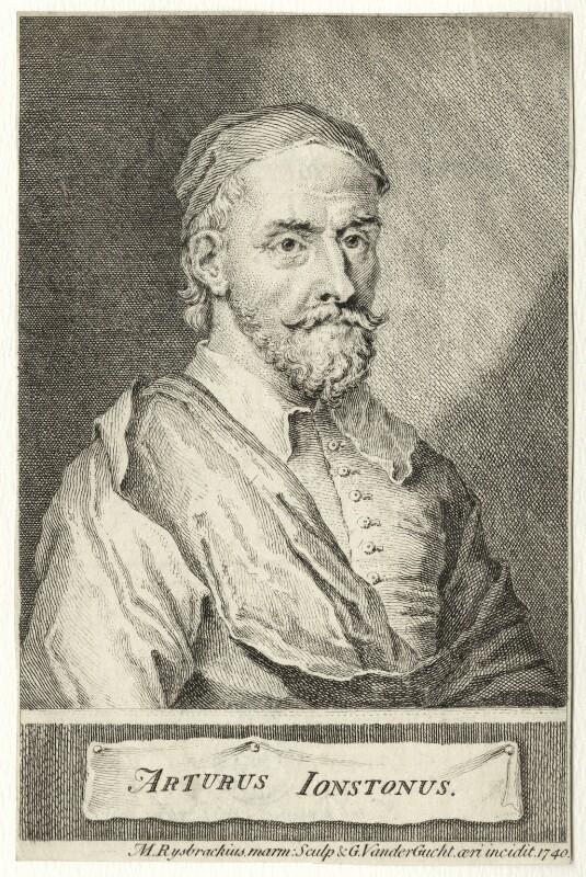 Arthur Johnston, by Gerard Vandergucht, after  John Michael Rysbrack, 1740 - NPG D27835 - © National Portrait Gallery, London
