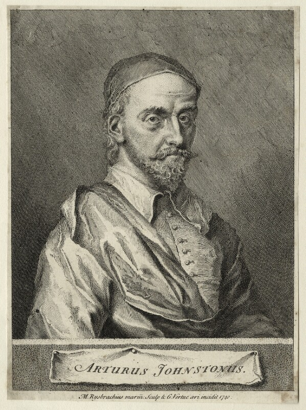 Arthur Johnston, by George Vertue, after  John Michael Rysbrack, 1740 - NPG D27836 - © National Portrait Gallery, London