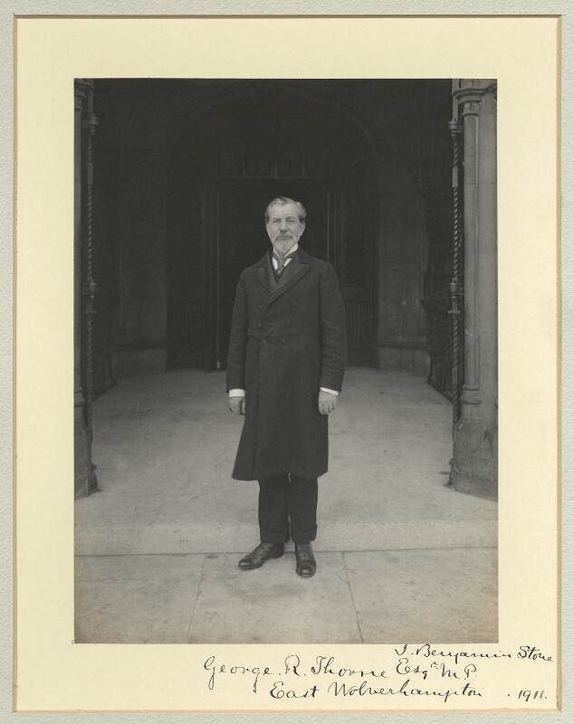George Rennie Thorne, by Sir (John) Benjamin Stone, 1911 - NPG x35222 - © National Portrait Gallery, London