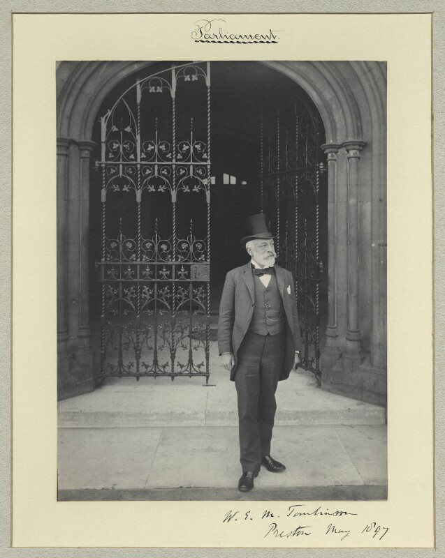 Sir William Edward Murray Tomlinson, 1st Bt, by Sir (John) Benjamin Stone, May 1897 - NPG x35224 - © National Portrait Gallery, London