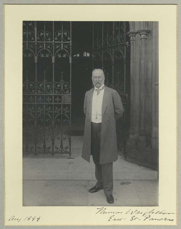 Sir Thomas Wrightson, 1st Bt, by Benjamin Stone, August 1899 - NPG x35564 - © National Portrait Gallery, London