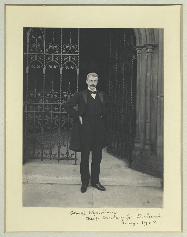 George Wyndham, by Sir (John) Benjamin Stone, May 1902 - NPG x35566 - © National Portrait Gallery, London
