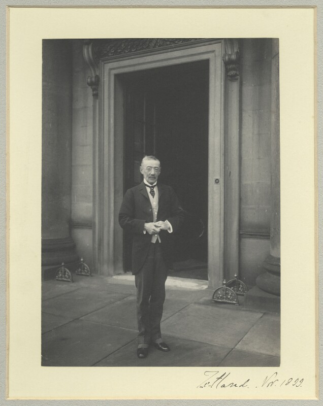 Lawrence Dundas, 1st Marquess of Zetland, by Benjamin Stone, November 1899 - NPG x35578 - © National Portrait Gallery, London